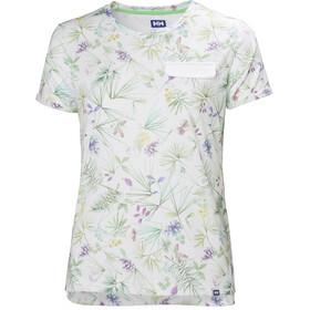 Helly Hansen Lomma T-shirt Dam white print